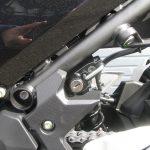 新車情報 2018年モデル カワサキ NINJA400ABS ブラック ヘルメットホルダー