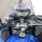 中古車情報 スズキ GSX-S1000F ABS ブルー ハンドル周り