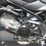 中古車情報 スズキ SV650 ABS マットブラック エンジン左側