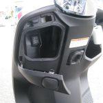 新車情報 ホンダ ダンク(DUNK) ホワイト/ピンク グローブボックス内の電源ソケット