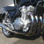 中古車 ホンダ CB1100 ABS ブルー エンジンまえ側