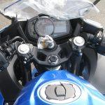 新車情報 カワサキ NINJA250 ブルー(2018年フルモデルチェンジ) メーターパネル