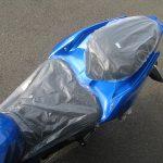 新車情報 カワサキ NINJA250 ブルー(2018年フルモデルチェンジ) シート