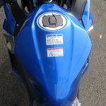 新車情報 カワサキ NINJA250 ブルー(2018年フルモデルチェンジ) ガソリンタンク上部