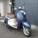 中古車情報 50ccスクーター ヤマハ ビーノ ブルー みぎまえ側
