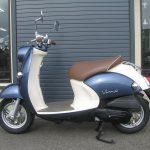 中古車情報 50ccスクーター ヤマハ ビーノ ブルー ひだり側