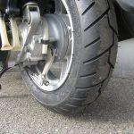 中古車情報 50ccスクーター ヤマハ ビーノ ブルー リヤタイヤ交換済みです。