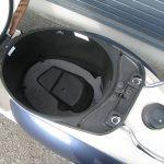 中古車情報 50ccスクーター ヤマハ ビーノ ブルー シートボックス収納スペース