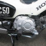 新車情報 ホンダ クロスカブ50(CROSS CUB50)ホワイト エンジン