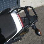 中古車情報 ホンダ グロム(GROM)ホワイト (125cc原付二種) リヤキャリア