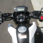 中古車情報 ホンダ グロム(GROM)ホワイト (125cc原付二種) メーター周り
