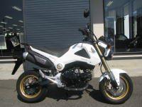 中古車情報 ホンダ グロム(GROM)ホワイト (125cc原付二種)