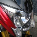 中古車 スズキ GSX-S1000ABS レッド/ブラック LEDヘッドライトバルブ装着写真