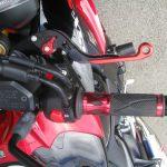 中古車 スズキ GSX-S1000ABS レッド/ブラック ブレーキレバー、PROグリップ装着写真