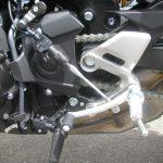 ヤマハ MT-09SP ABS シルバー/ブルー クイックシフター