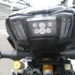 ヤマハ MT-09SP ABS シルバー/ブルー テールランプ