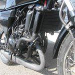 中古車情報 ヤマハ RZ50 ブラック エンジンまえ側
