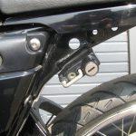 中古車情報 ヤマハ RZ50 ブラック ヘルメットホルダー