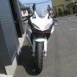新車バイク ホンダ CBR250RR ABS ホワイト (2018年新色) まえ側