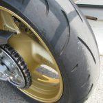 中古車情報 ホンダ CB400スーパーボルドール HYPER V-TEC REVO レッド/ホワイト リアタイヤ
