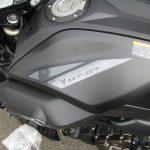 新車情報 ヤマハ MT-07ABS マットブラック ガソリンタンクエンブレム
