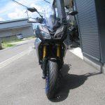 新車情報 ヤマハ TRACER900GT ABS ブラック/シルバー まえ側