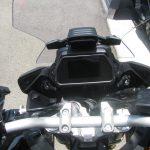 新車情報 ヤマハ TRACER900GT ABS ブラック/シルバー メーター周り