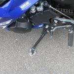 中古車情報 ヤマハ FZ6R ブルー トップボックス、ETC付き サイドスタンドエクステンション