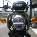 新車情報 ホンダ クロスカブ110(CROSS CUB) グリーン LEDヘッドライト