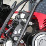 中古車 ホンダ CRF250RALLY タイプLD ブラック/レッド USB電源ソケット付