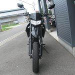 中古車情報 カワサキ D-TRACKER X(D-トラッカーX) ブラック/グリーン まえ側