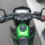 中古車情報 カワサキ D-TRACKER X(D-トラッカーX) ブラック/グリーン メーター周り