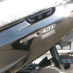 新車情報 スズキ アドレスV50 ブラック エンブレム