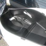 新車情報 ホンダ PCX ホワイト 2018年モデル シートボックス