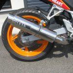 中古車情報 ホンダ CBR250R_ABS レプソルカラー(オレンジ/ブラック/レッド) マフラー