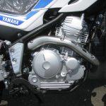 新車情報 ヤマハ セロー250(SEROW)2018年モデル ブルー エンジン周り