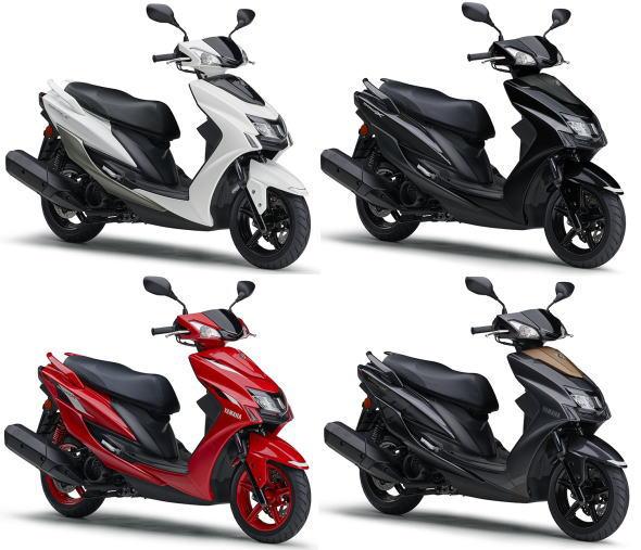新商品情報 ヤマハ シグナス X SR 2019年モデル 発表されました。