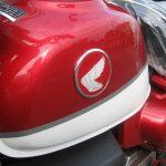 新車 ホンダ モンキー125ABS(2018年モデル) レッド/ホワイト ガソリンタンクエンブレム