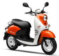 新車 ヤマハ E-VINO(E-ビーノ) オレンジ/ホワイト 2016年モデル サンプル画像