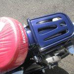 新車情報 ホンダ スーパーカブC125 ブルー リアキャリア