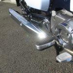 新車情報 ホンダ スーパーカブC125 ブルー ステップ、マフラー