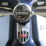 新車情報 ホンダ スーパーカブC125 ブルー LEDヘッドライト