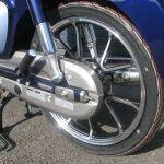 新車情報 ホンダ スーパーカブC125 ブルー リアホイール