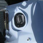 新車情報 ホンダ スーパーカブC125 ブルー メインスイッチ