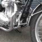 中古車情報 カワサキ W800 グリーン/ホワイト エンジンガード