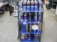 消耗品 オートバイ用のオイル各種 店頭で販売しております。