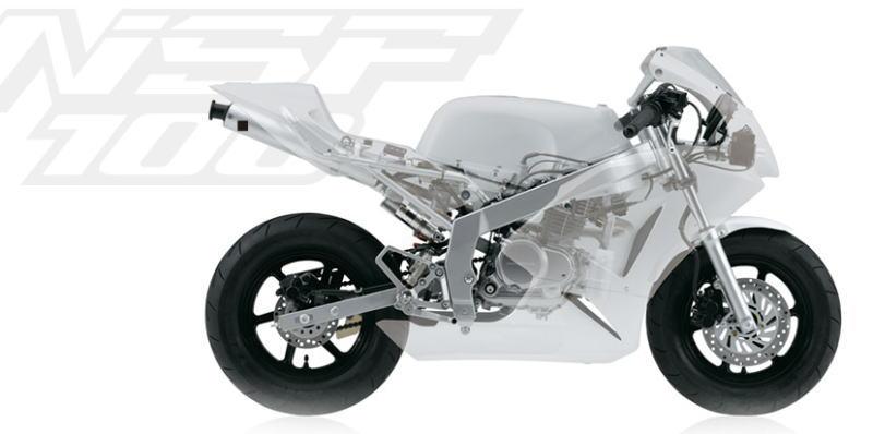 ホンダ HRC ミニバイクレーサー NSF100 ご予約受付開始のご案内です。