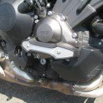 中古車 ヤマハ MT-09 ABS マットシルバー/ブルー エンジンガード
