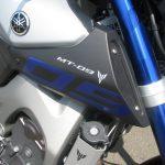 中古車 ヤマハ MT-09 ABS マットシルバー/ブルー タンクロゴ