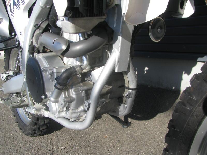 中古車情報 ヤマハ WR250R ホワイト フレーム傷